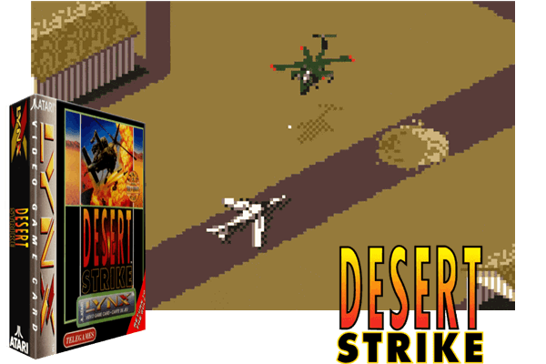 Atari Lynx - Desert Strike - Return to the Gulf